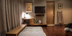 غرفة نوم تنفيذ Nómada Studio