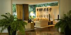 Salas / recibidores de estilo moderno por Olivia Aldrete Haas