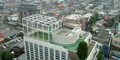 全景: Guen BERTHEAU-SUZUKI  Co.,Ltd.が手掛けたオフィスビルです。