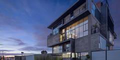 Foto 1: Casas de estilo industrial por Proyecto Cafeina