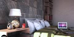 Chambre de style de style Moderne par Seven Arquitectos