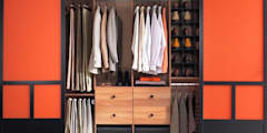 Wooden Wardrobes:   by S.R. Buildtech – The Gharexperts
