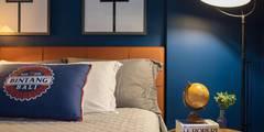Recámaras de estilo moderno por Duplex Interiores