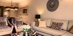 Apartamento Cosmopolita: Salas de estar modernas por Spacemakers