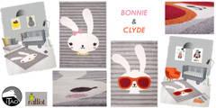 Tapis Bonnie & Tapis Clyde:  de style  par ITAO