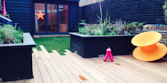 London TV Studio: modern Garden by Garden2Office