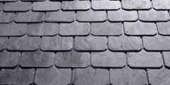 """Cubierta de pizarra. Formato E10 M monumental """"Big Roof"""". 70x50 12mm. :  de estilo  de pizarra y tejado"""
