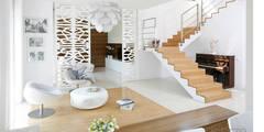 LA CASA BLANCA : styl , w kategorii Korytarz, przedpokój i schody zaprojektowany przez Ludwinowska Studio Architektury