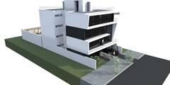 EDIFICIO MECENAS: Casas de estilo moderno por GGAL Estudio de Arquitectura