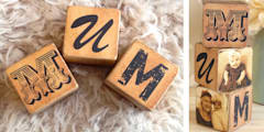 Personalised Wooden Photo Blocks:   by PhotoFairytales