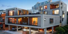 Casas de estilo moderno de 비온후풍경 ㅣ J2H Architects