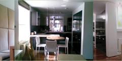 OPEN PLAN KITCHEN I BREAKFAST I ENTERTAINMENT I DINING SPACE: modern Kitchen by Anna Hansson Design