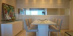 Столовые комнаты в . Автор – Ju Nejaim Arquitetura