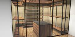 Planungsbilder: ausgefallene Ankleidezimmer von Design Manufaktur GmbH