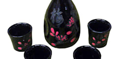 Chinese Sake Set:   by Asia Dragon
