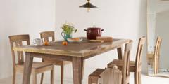 Brassy Boy kitchen table:   by Loaf