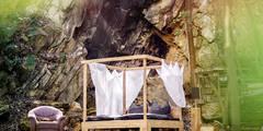 Himmelbett: landhausstil Schlafzimmer von edictum - UNIKAT MOBILIAR