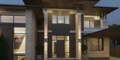Проект частного жилого дома 500м.кв. в Ростове-на-Дону.: Дома в . Автор – studio forma