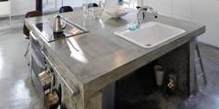 minimalistische Keuken door 久保田正一建築研究所