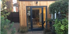 Timber Frame Extension Boston Lincolnshire:   by Jenny McIntee Architectural Design