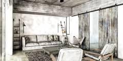 Salas de estilo moderno por FAARQ - Facundo Arana Arquitecto & asoc.