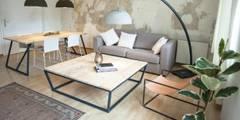 scandinavian Living room by woodboom