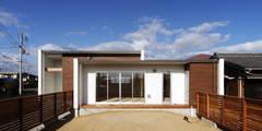 F.Flat+L -共働きのための平屋住宅- : 有限会社アルキプラス建築事務所が手掛けた家です。