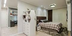Projekty,  Sypialnia zaprojektowane przez Patrícia Azoni Arquitetura + Arte