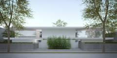 Nuova abitazione bifamiliare: Case in stile in stile Moderno di MIDE architetti