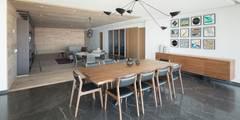 Projekty,  Jadalnia zaprojektowane przez Concepto Taller de Arquitectura