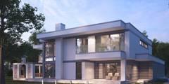 Einzigartiges Designerhaus LK&1239 für hohe Ansprüche: moderne Häuser von LK&Projekt GmbH