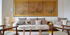 Salon - Appartement Paris 15e: Salon de style de style Moderne par A comme Archi
