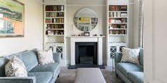 Dorlcote Road, Wandsworth: classic Living room by Grand Design London Ltd