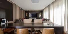 Salas de entretenimiento de estilo moderno por Andréa Buratto Arquitetura & Decoração
