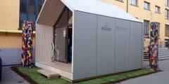 Microarch Smarthome | #fuorisalone Milano: Case in stile in stile Scandinavo di MODOM srl