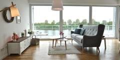 Näher an der Weser geht nicht...:   von Karin Armbrust - Home Staging