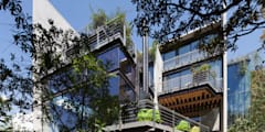 Casas de estilo moderno de grupoarquitectura