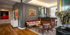 eclectic Kitchen by Weber Arquitectos
