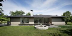 外観: atelier137 ARCHITECTURAL DESIGN OFFICEが手掛けた家です。