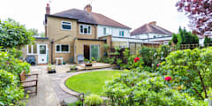 The Ruislip Side Extension: modern Houses by The Market Design & Build