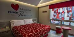 Hotel HOTSEC: Hoteles de estilo  por DIN Interiorismo
