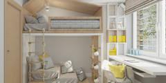 RuSl_01: styl , w kategorii Pokój dziecięcy zaprojektowany przez InSign Pracownia Projektowa Karolina Wójcik
