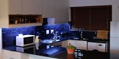 Jamie and Som Ries:  Built-in kitchens by Capital Kitchens cc