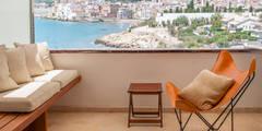 La terraza con vista al mar: Terrazas de estilo  de Rardo - Architects