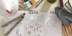 Progetto allestimento NellAia:  in stile  di Ramina Studio