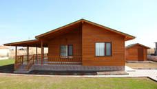 Projekty,  Dom prefabrykowany zaprojektowane przez Kuloğlu Orman Ürünleri