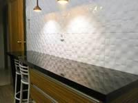 Cocina en madera de cebrano y blanca 3: Cocinas de estilo moderno de Cocinasconestilo.net