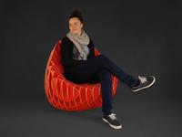 """Lounge Chair """"MC 205"""" farbig:   von Nordwerk rDesign"""