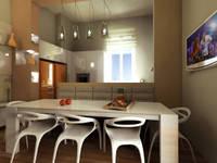 Virtual Home Staging Cucina :  in stile  di AAA Architettura e Design