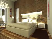 Virtual Home Staging Camera da Letto : Camera da letto in stile in stile Moderno di AAA Architettura e Design